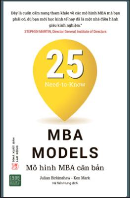 25 Mô Hình MBA Căn Bản