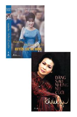 Combo Madam Nhu Trần Lệ Xuân - Quyền Lực Bà Rồng (Tái Bản 2016) & Đằng Sau Những Nụ Cười