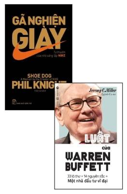 Combo Gã Nghiện Giày - Tự Truyện Của Nhà Sáng Lập Nike - Luật Của Warren Buffett (Bộ 2 Cuốn)