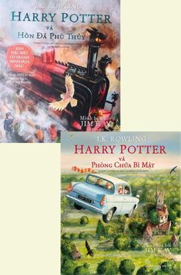 Combo Harry Potter Và Hòn Đá Phù Thủy - Harry Potter Và Phòng Chứa Bí Mật (Bộ 2 Quyển)