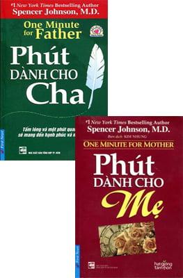Combo Phút Dành Cho Mẹ (Tái Bản 2016) + Phút Dành Cho Cha (Tái Bản 2016)