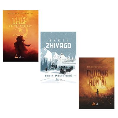 Combo Thép Đã Tôi Thế Đấy + Chuông Nguyện Hồn Ai + Bác Sĩ Zhivago (Trọn Bộ 3 Cuốn)