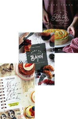 Combo Nhật Ký Học Làm Bánh (Bộ 3 Cuốn)