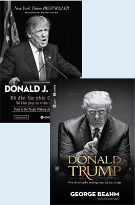 Combo Donald Trump (Bộ 2 Cuốn)