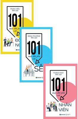 Combo 101 Mẹo Đối Phó Với Nhân Viên + 101 Mẹo Đối Phó Với Sếp + 101 Mẹo Đối Phó Với Đồng Nghiệp (Bộ 3 Cuốn)