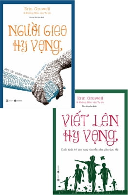 Combo Người Gieo Hy Vọng + Viết Lên Hy Vọng (Bộ 2 Cuôn)