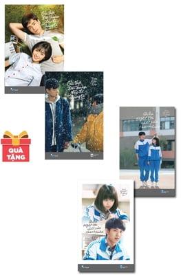 Combo Bộ Điều Tuyệt Vời Nhất Của Thanh Xuân (Bộ 2 Tập) - Bản Mới + Gửi Thời Đơn Thuần Đẹp Đẽ Của Chúng Ta (Bộ 2 Tập) Bản Đặc Biệt - Tặng Kèm 1 Poster + 3 Postcard (Số Lượng Có Hạn)