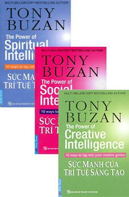Combo Tony Buzan - Sức Mạnh Của Trí Tuệ (3 Quyển)